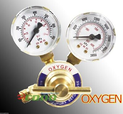 Cga 540 Welding Gas Welder Oxygen Regulator Oxy For Victor Torch Cutting Kits