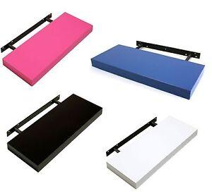 High Gloss Floating Shelf Shelves Shelving Kit In Pink