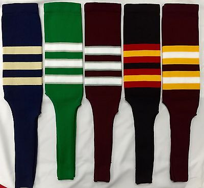 Baseball Stirrups Socks Navy Blue Kelly Green Maroon Black Gold Vega Gold White ](Mens Baseball Stirrups)
