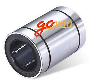 12PCS-LM8UU-8mm-8x15x24mm-Linear-Ball-Bearing-Bush-Bushing-8mmx15mmx24mm