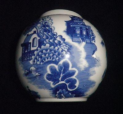 Vintage Royal Cauldon Willow Pattern Ginger Jar Made For R Twining & Co Ltd VGC
