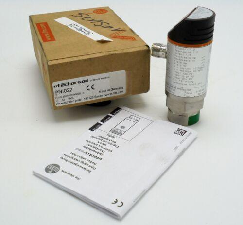 IFM EFFECTOR PNI022 / PNI100-SBR14-QFRKG/US/ V PRESSURE SENSOR