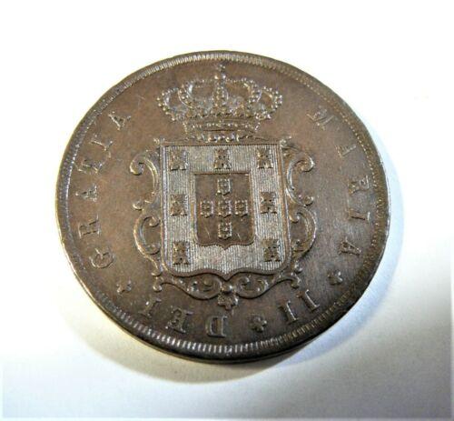 Portugal 1846 10 Reis  XF/AU SB1