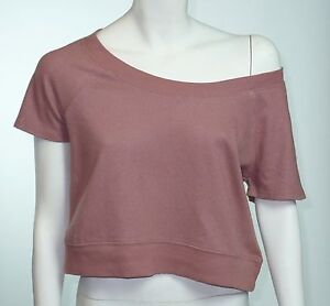 Coincidence-Chance-Urban-Outfitters-Off-Shoulder-Cropped-Top-Size-L