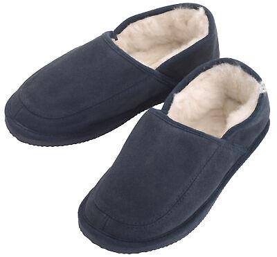Genuine Sheepskin Wool Slippers with EVA Hard Sole for Men & Women by Lambland