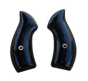 AJAX For Smith Wesson J Frame Grips - #22BP Buffalo Horn Polymer Set