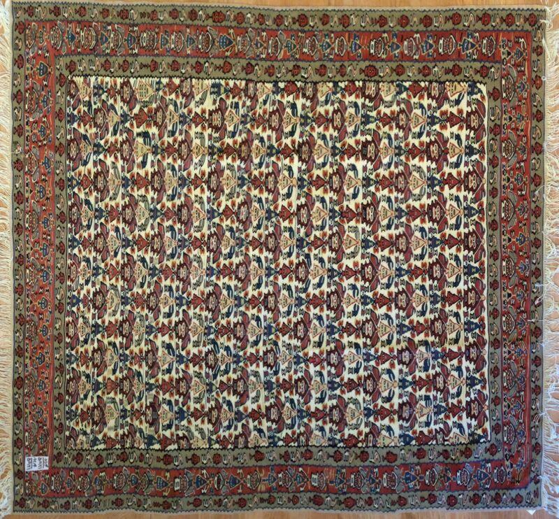 Tremendous Tribal - Vintage Oriental Rug - Oriental Kilim - 4.10 X 5 Ft.