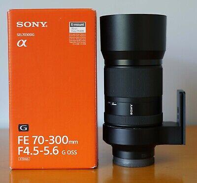Sony FE 70-300mm f/4.5-5.6 G OSS  - Boxed, Mint for Sony E mount + TRIPOD MOUNT