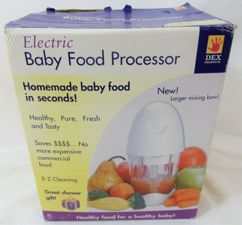 Electric Baby Food Processor by Dex Products