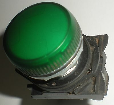 ELECTRICAL PUSHBUTTON SPRECHER SCHUH PILOT LIGHT GREEN D7MP3PN3X D7-N3G-APL
