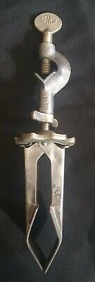 Vintage Cenco Bracket Arm Clamp Rod Holder Laboratory Equipment Test Tube 780