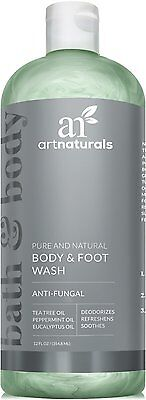 Art Naturals Antifungal Soap With Tea Tree Oil - 100% Natural Best