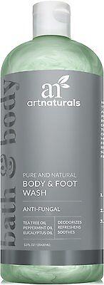Art Naturals Antifungal Soap With Tea Tree Oil - 100% Natural Best (Best Artnaturals Oils)