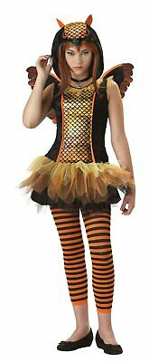 Strangeling Halloween Costumes (Owlyn Bird Owl Girl Animal Strangeling Fancy Dress Halloween Teen Tween)