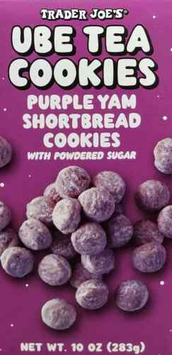Trader Joes Ube Tea Cookies - 10 OZ Not Available In Stores Anymore