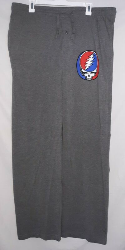 Grateful Dead Steal Your Face Pocketed Lounge Style Pajama Pant
