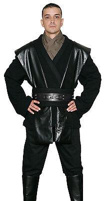 Star Wars Anakin Skywalker Kostüm schwarz Jedi / Sith Tunika und Hosen aus UK