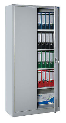 Swing Door Cabinet Steel Metal Storage Office Filling Special Item 530345