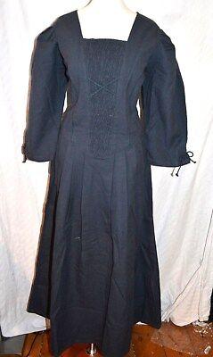 JOYLINE Country Classic Kleid Dirndl Mittelalter Gr. 38 Leinenoptik 139,- Larp  Classic-kleid Kleid
