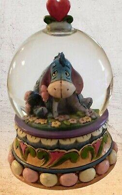 JIM SHORE Disney Eeyore Snow Globe Gloom to Bloom Winnie the Pooh Enesco 4015351