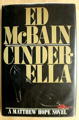 CINDERELLA Ed McBain stated 1st Edition 1986 Mystery Hardcover plus 3 more! (Cinderella Adult Version)
