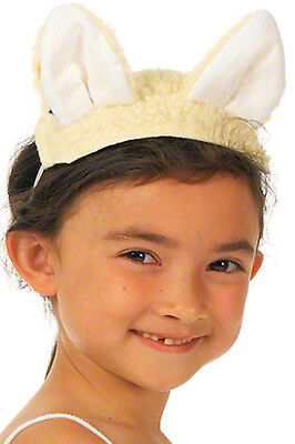 Lamb Ears & Tail Kids Sheep Fancy Dress Nativity Play Animal Christmas Costume](Costume Sheep Ears)