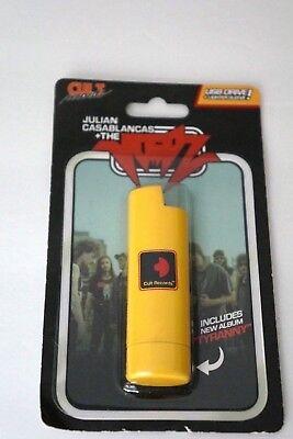 JULIAN CASABLANCAS THE VOIDZ Tyranny USB Drive Yellow Lighter Sleeve NEW Sealed