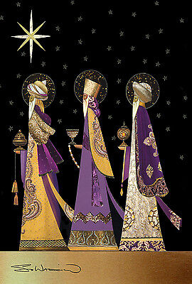 NEW TOLAND TRUE MEANING OF CHRISTMAS GARDEN FLAG THREE WISE MEN KINGS 12.5 x 18 Meaning Three Kings