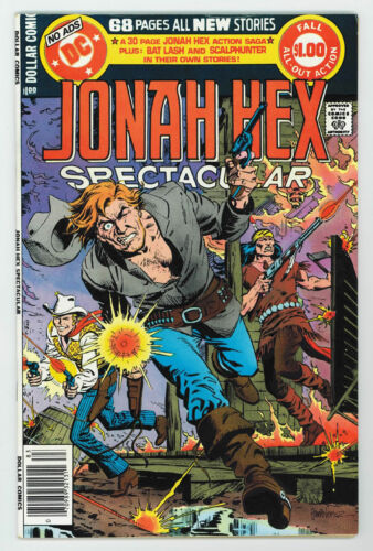 JONAH HEX SPECTACULAR (DC SPECIAL SERIES #16) 8.0 DEATH OF JONAH HEX OW PGS 1978