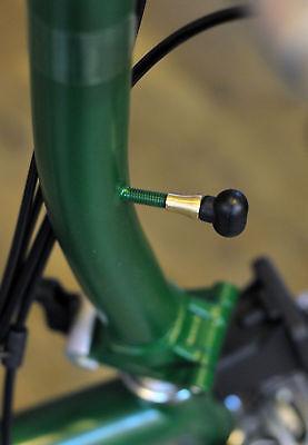 Maneta de Freno Posiciones Adaptador Para Brompton Bicicleta Oro