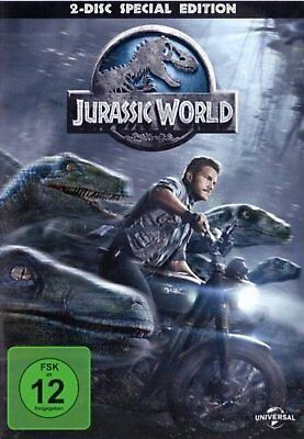 Jurassic World - 2-Disc-Special Edition (Chris Pratt) # 2-DVD-NEU