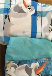 Frozen Olaf sheet set Double