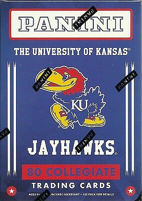 2016 Panini Kansas University KU Jayhawks Multi-Sport Blaster Box Trading Cards