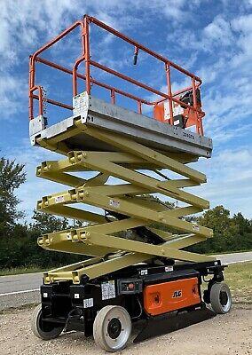 Jlg 3246 Electric Scissor Lift Aerial Refurbished - Warranty - Dealer Ie Genie
