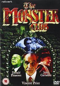 The-Monster-Club-DVD-NEW-SEALED-Vincent-Price-John-Carradine