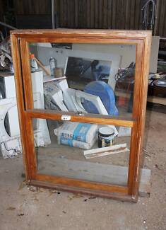 Double hung window complete with servery