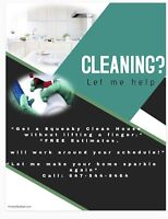 Need help with cleaning?