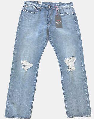 Levis X Justin Timberlake 502 Jeans Distressed Fresh Leave Stretch Regular 36x32