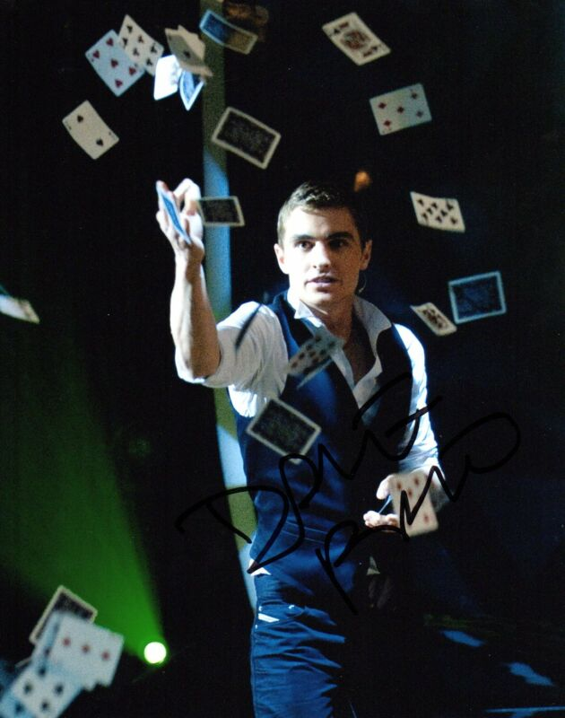 Dave Franco Now You see Me Autographed Signed 8x10 Photo COA #3