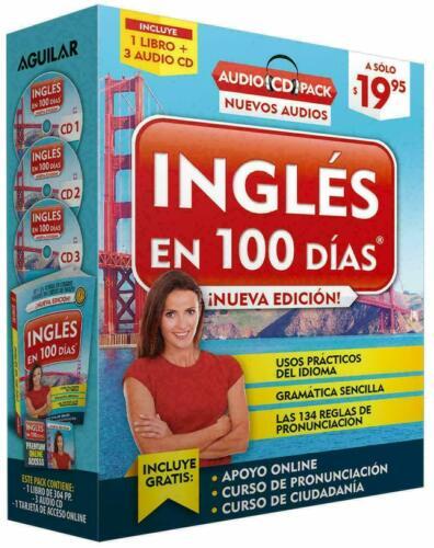 Curso De Ingles Para Hispanohablantes 100 Dias Disco 3 Cd Audio Completo Calidad