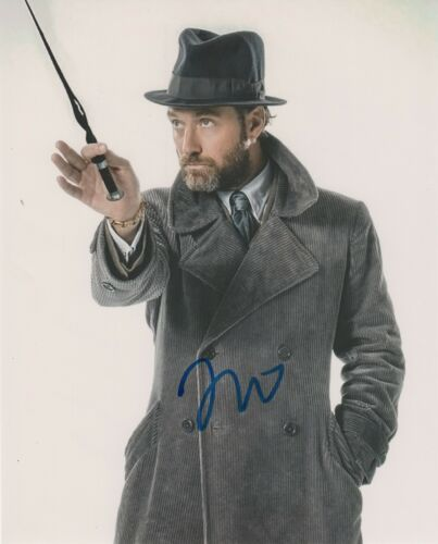 Jude Law Fantastic Beasts Autographed Signed 8x10 Photo COA 2020-1