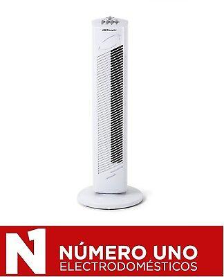 Ventilador de Torre Orbegozo TW 0745, Blanco, 45 W