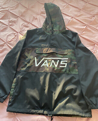 Brand New With Tags Mens Authentic Vans Camo Lightweight Jacket Size M