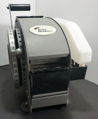 Better Pack Model 333 Plus Manual Gummed Tape Dispenser Fully Functional