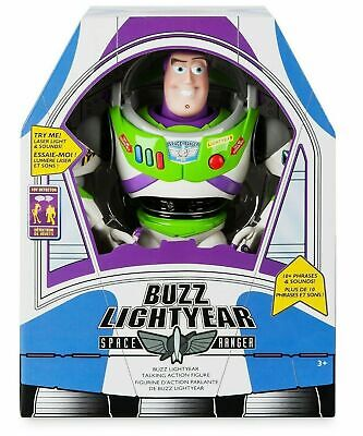 """Disney Pixar Buzz Lightyear Talking Action Figure 12"""" New item! for sale  Shipping to India"""