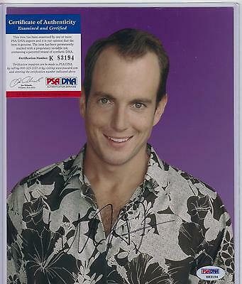 Will Arnett Signed Autograph Auto 8X10 Psa Dna Certified