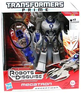 Transformers Prime Megatron Decepticon Voyager Class Robots in Disguise 37993