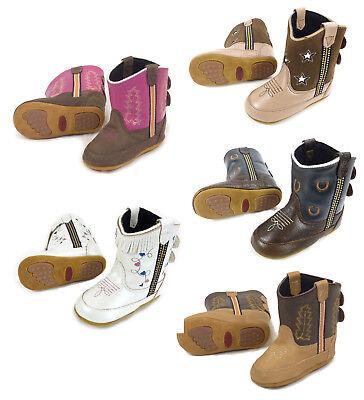 Baby-Westernstiefel für Klein Kinder versch. Sorten Cowboy Boots - Cowboy Stiefel Für Kleinkind Jungen