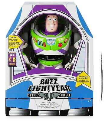 Disney Store Buzz Lightyear Interactive Talking Action Figure – 12'' - NIB for sale  Shipping to India