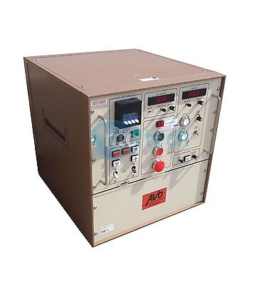 Avo Biddle Megger 50100 Kv Ac Dielectric Test Set Control Panel 681100-008